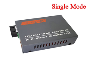 CONVERTER SINGLE-MODE, SUPPORTS 1000BASE-TX